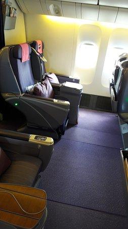 Thai Airways: Бизнес класс.очень шикарно.
