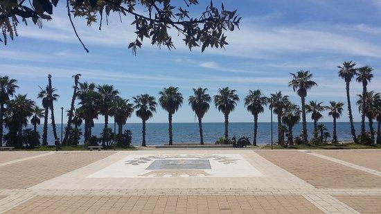 Civitavecchia Port: The Marina promenade