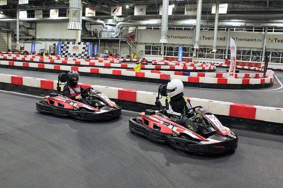 Indoor Go-Carting Center RUMOS-Sport