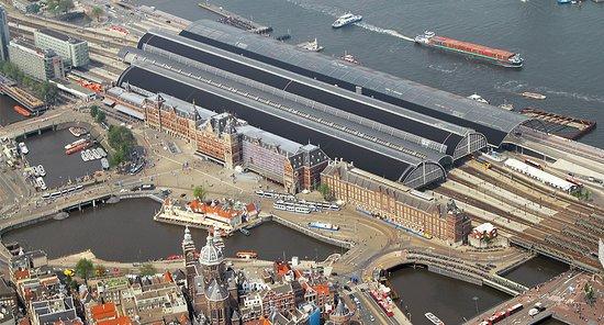 Lelystad, The Netherlands: Amsterdam Central Station
