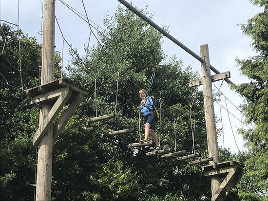 Stretford, UK: Life at Trafford Treetops