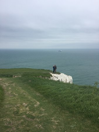 At the Edge of the White Cliffs of Dover!