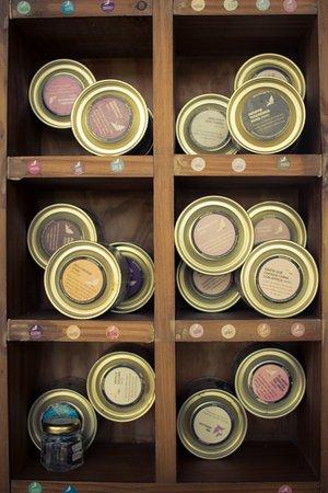 La Bolsa, Argentina: Los tés en hebras son de Mil Grullas.