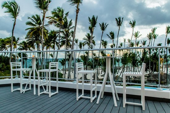 The Level At Melia Punta Cana Beach Resort: Quimera Rooftop Bar - The Level Guest