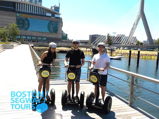 Going to see a #concert or #game at #TDGARDEN? Make a day of it and check us out on a #Segway #tour in #Boston! www.bostonsegwaytours.net