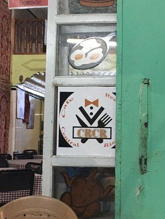 The front door just beside supra tours office
