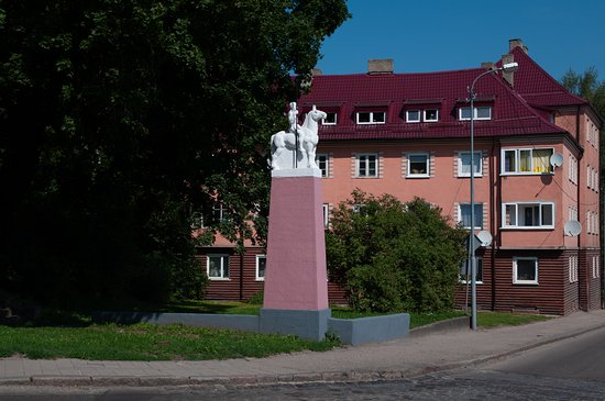 Memorial Sign to the Lances of the 12th Insterburg Lithuanian Regiment