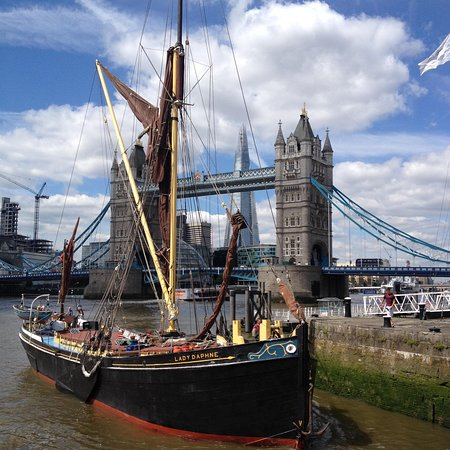 Sailing Barge Lady Daphne