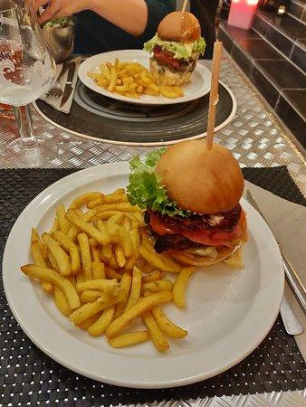 Burger + grog = régal