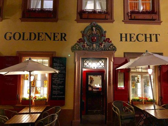 restaurant goldener hecht heidelberg restaurant bewertungen telefonnummer fotos tripadvisor. Black Bedroom Furniture Sets. Home Design Ideas
