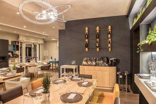 Dulchemente: dining room - sala interna
