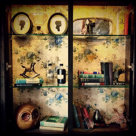 Bookcase curiosities