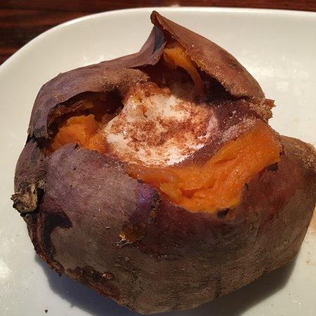 LongHorn Steakhouse: Sweet Potato with Butter & Cinnamon