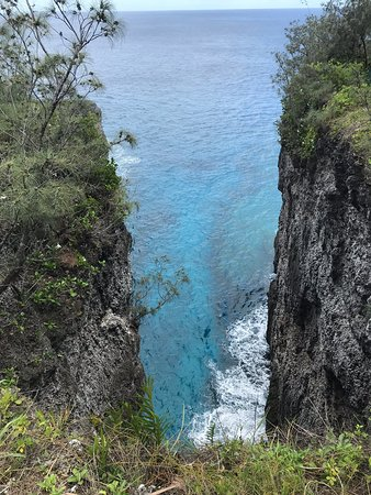 Mare, Nieuw Caledonië: Le Saut Du Guerrier