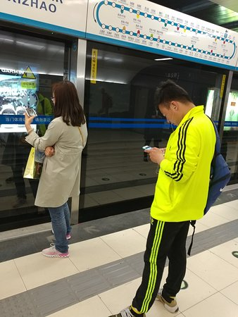 Beijing, China: 8.  Hope you find interesting scenes of the hundreds of millions of Chinese mobile phone users!