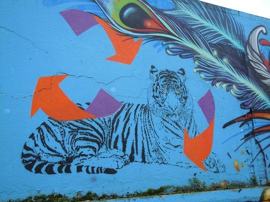 Fresque Les Tigres