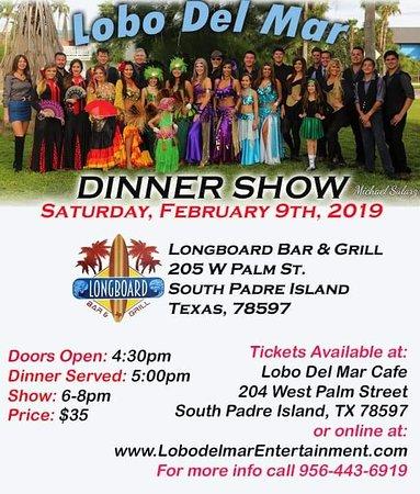 Lobo Del Mar at LongBoard Bar & Grill, South Padre Island, TX