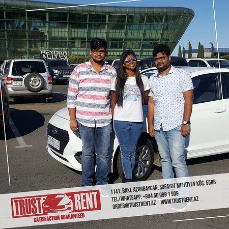Trust Rent a Car Baku
