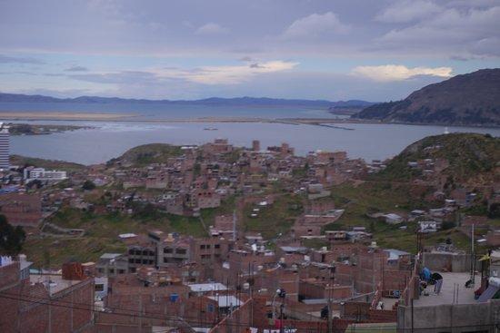 Casa Andina Standard Puno: Approaching Puno by road