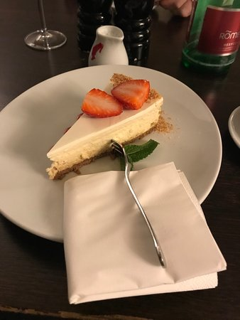 Rango Restaurant: Cheesecake