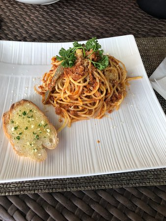 Mango, Sport Bar & Cafe: Spaghetti Bolognese