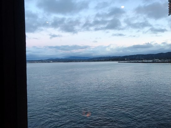 Chart House: View of Monterey Bay from the table