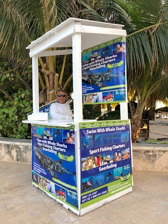 Same day reservations at the Ceviche Beach Kiosk