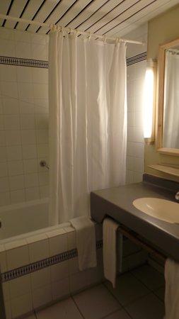 Salle de bains... grand luxe... une douché ? Pour quoi faire ???
