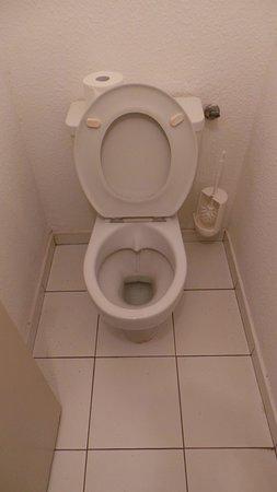Ls WC dont la cuvette ne connaît pas de produit pour blanchir