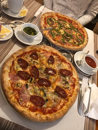 Miren, Slovenia: Best pizza so far this year. It's February, but it was great anyhow. There is also a great variety to pick from.