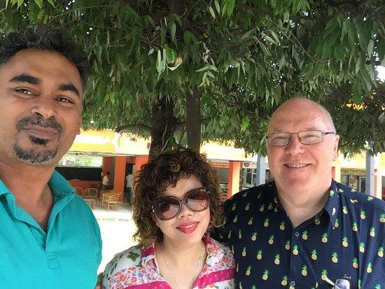Srí Lanka: With UK couple