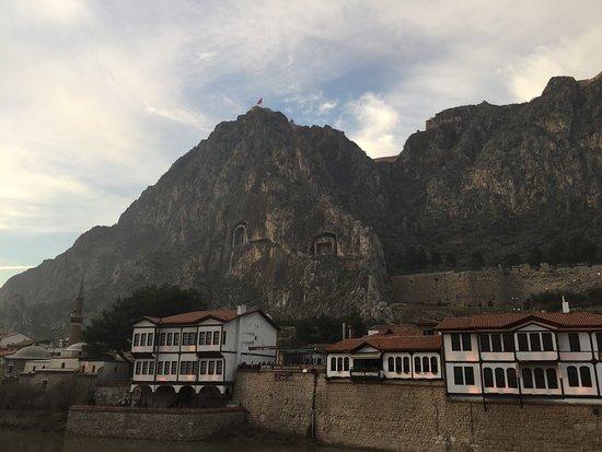 Amasya Province, Turquia: Yeşilırmak kıyısında tarihi konaklar
