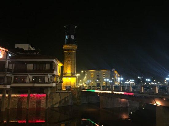 Amasya Province, Turquia: Amasya saat kulesi