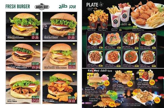 Émirat de Ras Al Khaimah, Émirats arabes unis : Fresh Burger Photos
