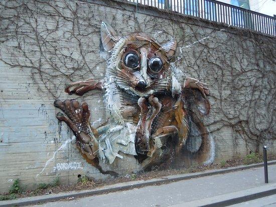 Fresque Le Furet