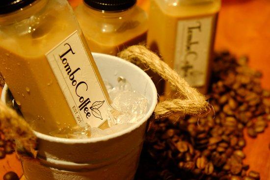 Batang, Indonesia: Salah satu produk Tombo Coffee