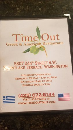 Time Out Burgers