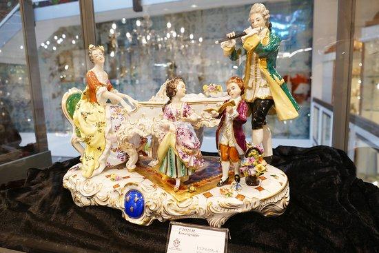 Arnbruck, Saksa: Porcelain figures