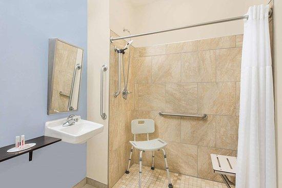 Microtel Inn & Suites by Wyndham Waynesburg: Guest room bath