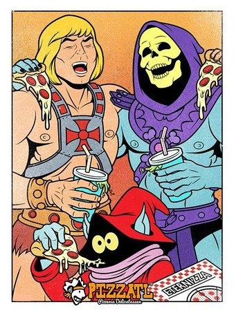 ¡He-Man tiene el PODERRRR!!!! 🏋♂🤜🏽🍕💥💀🧙♂  #Orizaba #Pizzatl #pizza #lapizzadeorizaba #consumelocal #orizabapueblomagico #Meme