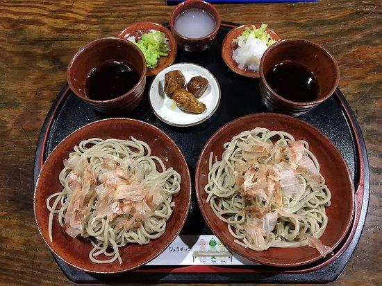 Men Kobo Kifune: 越前おろしそば    おもてなし膳