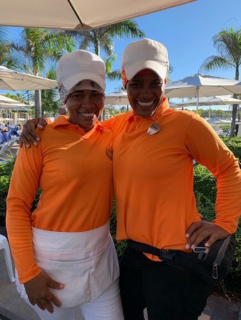 Hard Rock Hotel & Casino Punta Cana: Very genuine and friendly ladies!