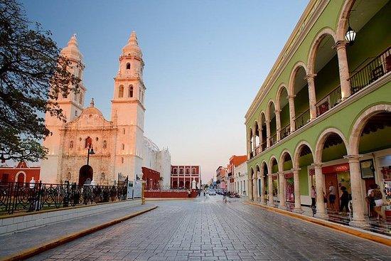 Becal y Campeche desde Mérida en...
