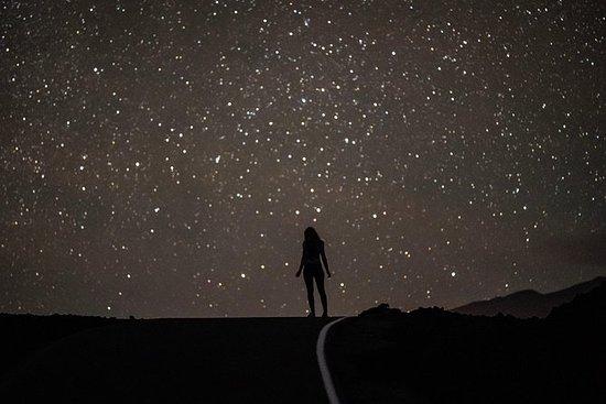 Observación de estrellas, cueva de...