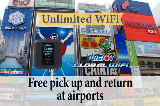 Unlimited WiFi in Japan with Device...