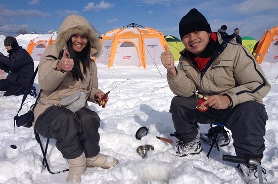 Disfrute de Smelt Ice Fishing y...