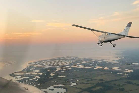 Fly Over the Arcachon Bay in a...