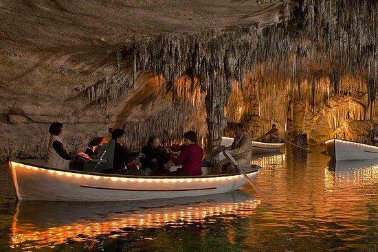 Drach Caves med Port Cristo og Pearl...