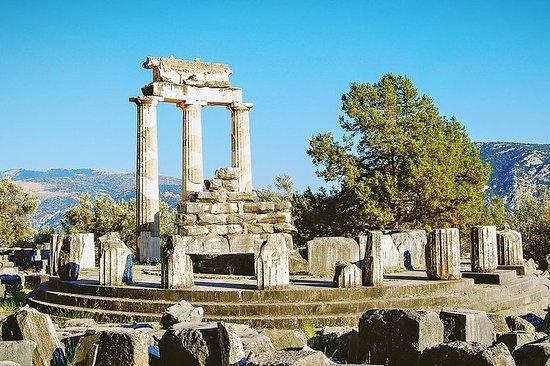 Fra Athen: Fulldagsbusstur til Delphi...