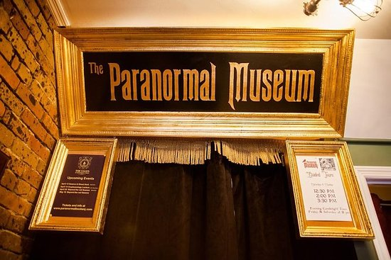 Guided Tour of The Paranormal Museum